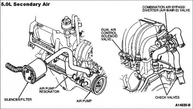 Ford Probe Vacuum Diagram, Ford, Free Engine Image For