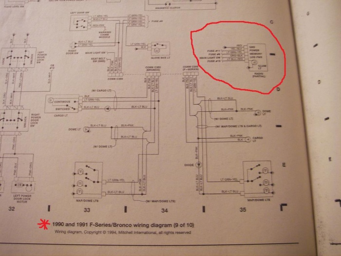 1991 F350 Wiring Diagram