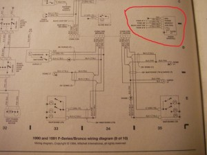 Wiring Diagram For 1991 Ford F150  Ford F150 Forum