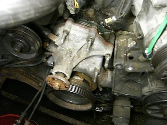 Saab 2 0 Water Pump Removal