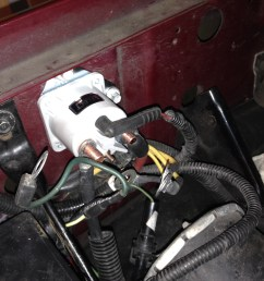 no signs of battery power after changing starter solenoid ford rh f150forum com 1991 ford f150 starter solenoid wiring diagram 1991 ford f150 starter  [ 1632 x 1224 Pixel ]