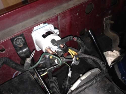 small resolution of 1987 ford ranger solenoid wiring wire center u2022 rh epelican co ford ranger starter relay wiring