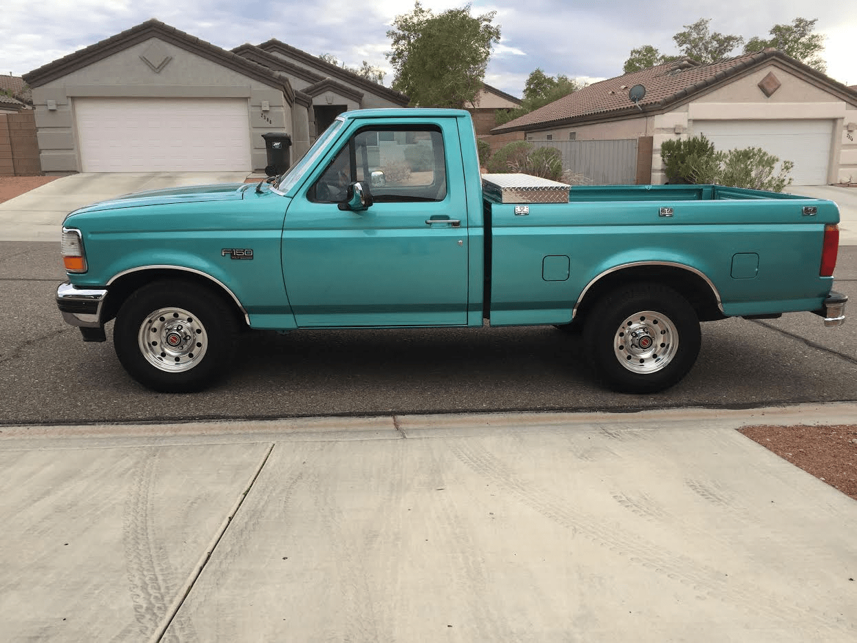 hight resolution of  1995 ford f 150 xlt 95 truck png