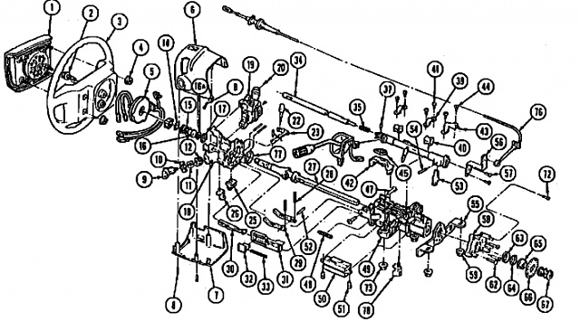 1997 Ford f150 steering column bearings