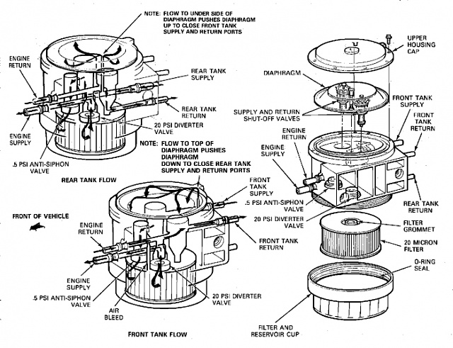 Ford Fuel Selector Valve Diagram. Ford. Wiring Diagram Images