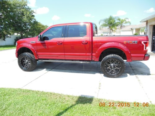 small resolution of 2015 ruby red xlt fx4 w pro comp 6 quot lift kit dscn0286