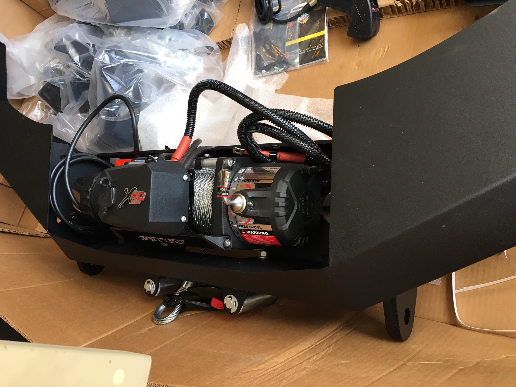 hight resolution of  warn winch bumper installed img 9429 jpg