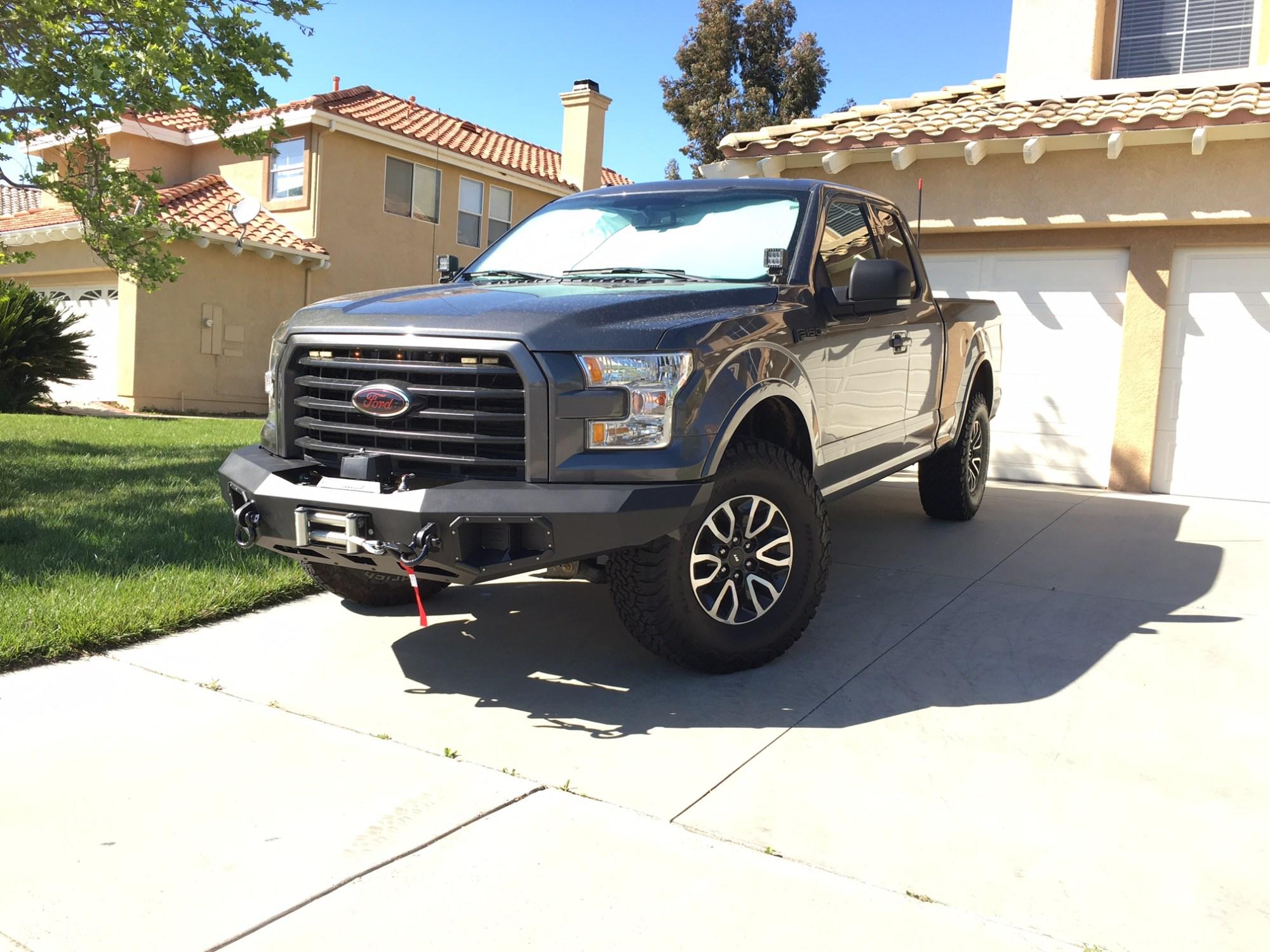 hight resolution of  warn winch bumper installed img 9435 jpg