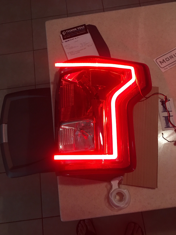 Morimoto switchback tail light accents  Ford F150 Forum