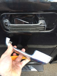 How Do You Remove The Outer Door Handle On An 2011 For ...