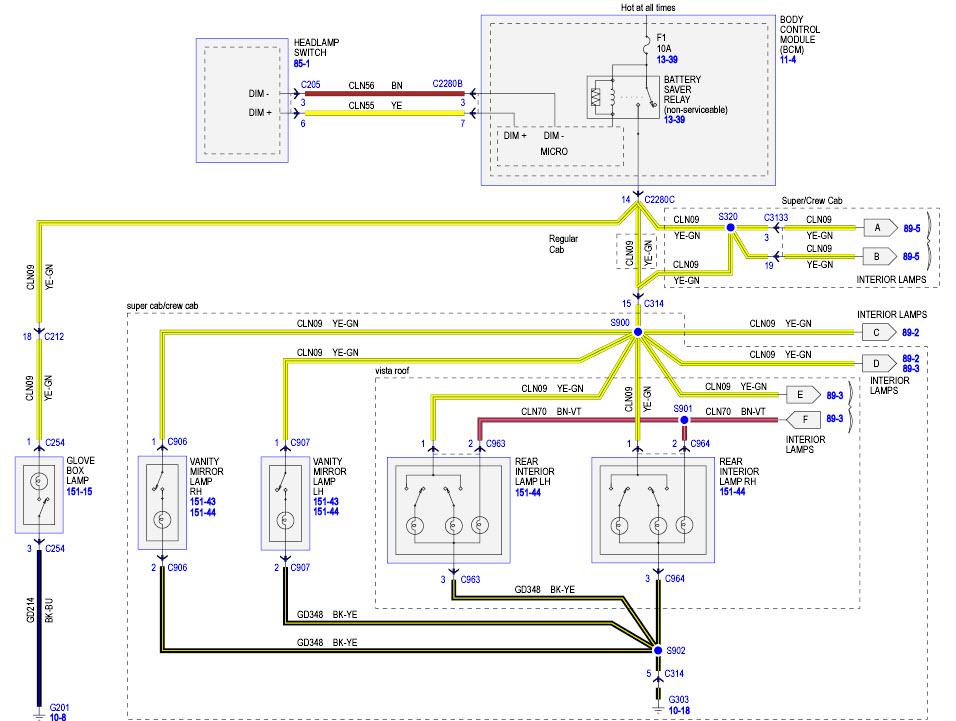2016 f150 wiring diagram origami pokemon xlt 302a sun visor upgrade - ford forum community of truck fans