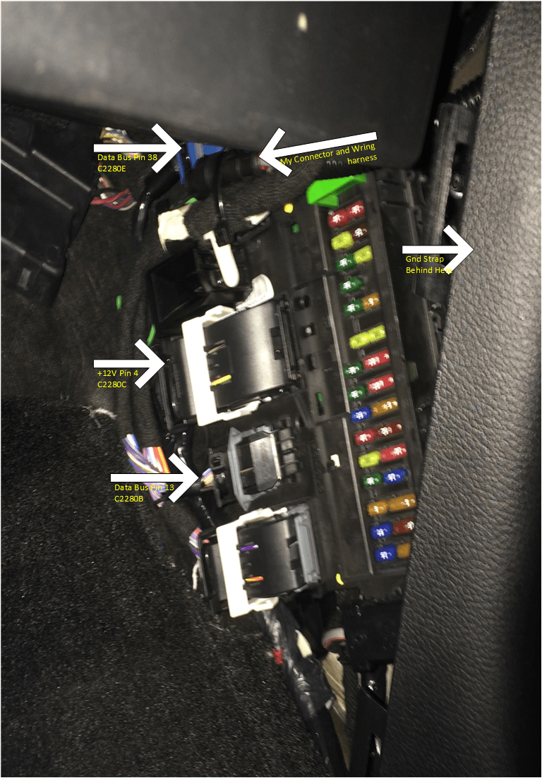 2006 Ford Mustang Fuse Diagram Oem Ambient Lighting Installed In 2015 Xlt Mft Controlled