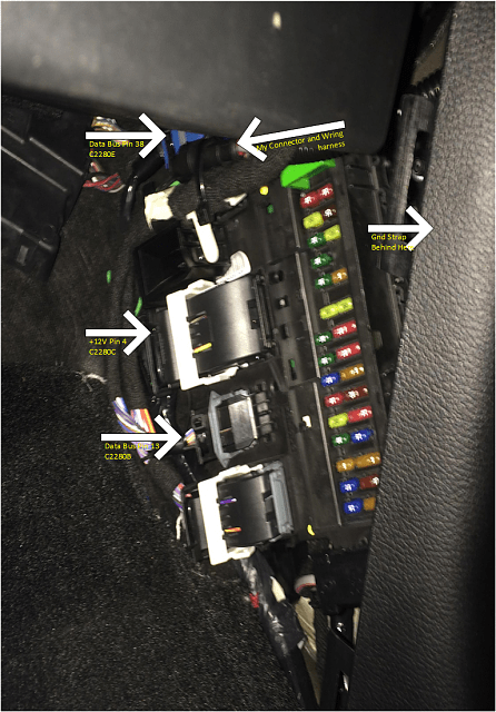 2006 Ford Super Duty Trailer Wiring Diagram Oem Ambient Lighting Installed In 2015 Xlt Mft Controlled