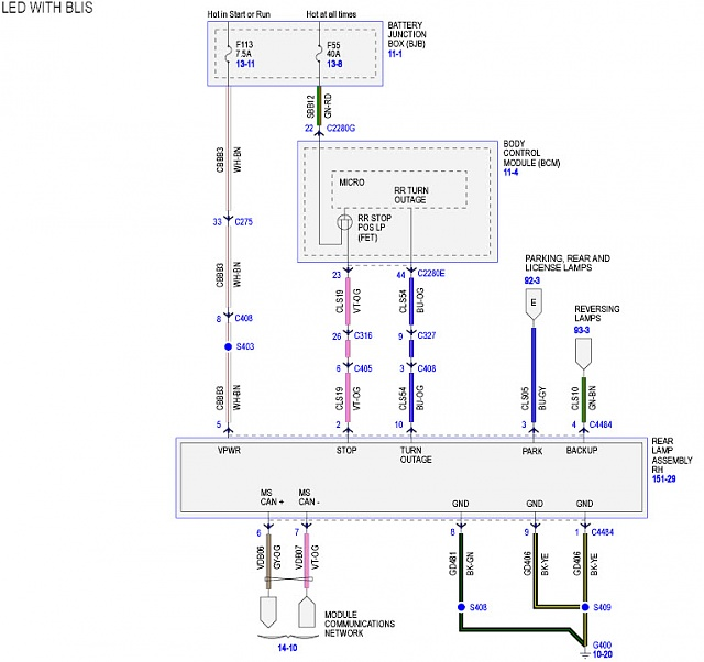 lighting wiring diagram junction box photocell 2015 ford truck tail light diagrams schematic f 150 motorcycle