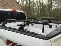 Anyone mounted the rack on the bed or bed rails? - Ford ...