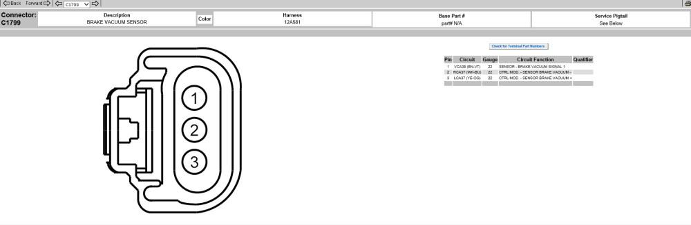 medium resolution of got p0555 brake booster pressure sensor circuit
