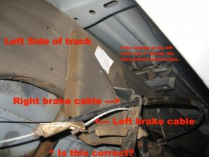 2003 F150 ebrake cable question  Ford F150 Forum  Community of Ford Truck Fans