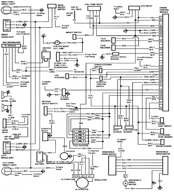 1985 Dodge D250 Wiring Diagram. Dodge. Wiring Diagrams