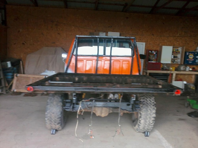 how to build a flatbed for my truck