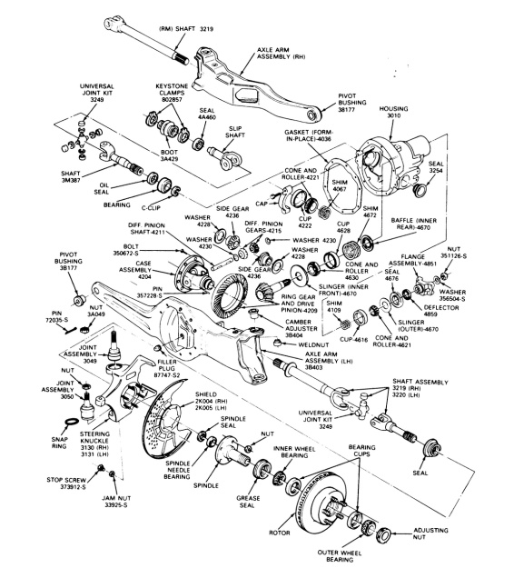 f150 spindle diagram