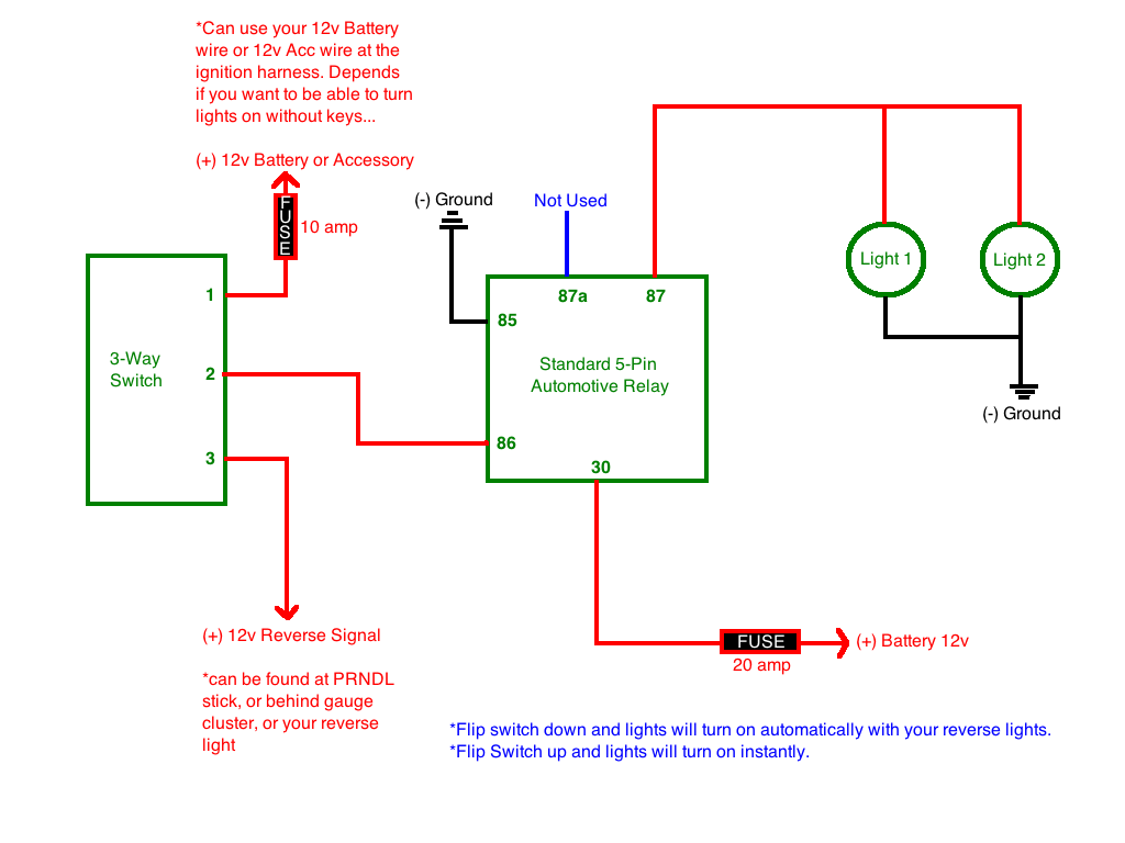 hight resolution of reverse light trouble relay spdt aux lights png