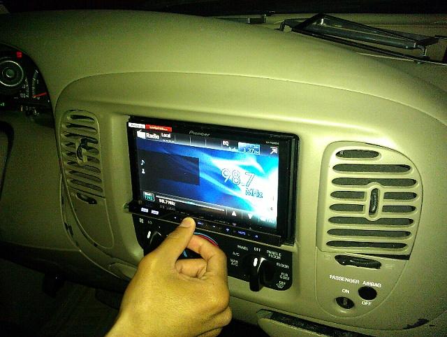 2002 Ford F150 Truck Car Radio Wiring Diagram