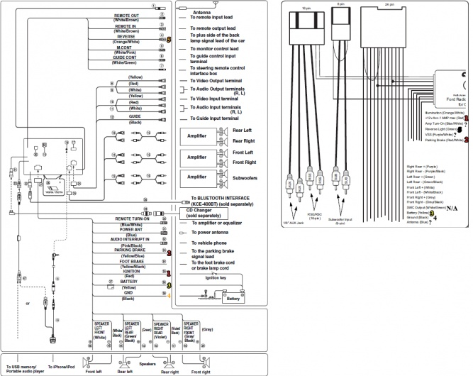wiring diagram for alpine ina w900