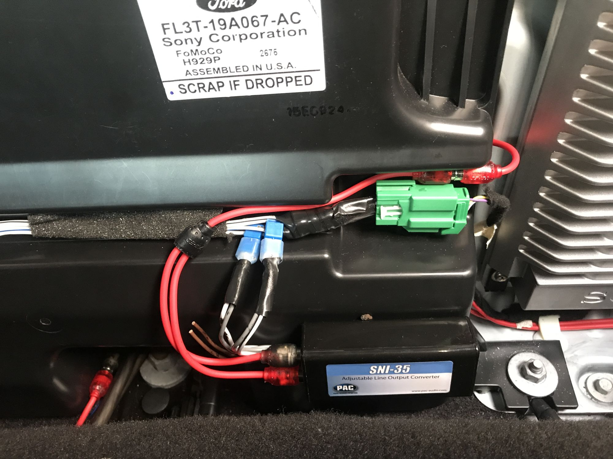 Harness Ford In Addition Ford Factory Radio Wiring Harness Also 7 Way