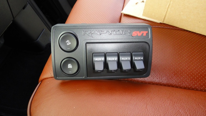 Toggle Switch Wiring Diagram Installed Upfitter Auxiliary Switches Ford Raptor To