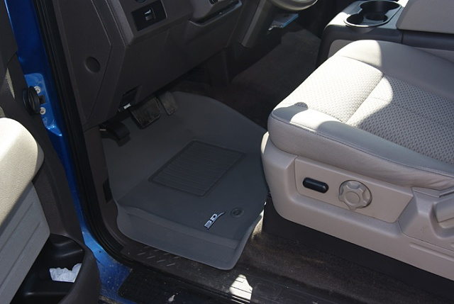OEM rubber mats vs Weathertech vs Husky  Page 4  Ford