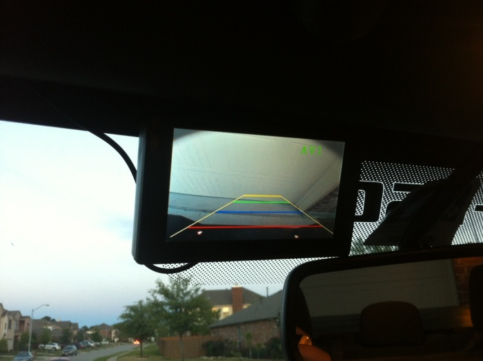 2013 Ford F 150 Trailer Wiring Back Up Camera Monitor Ford F150 Forum Community Of
