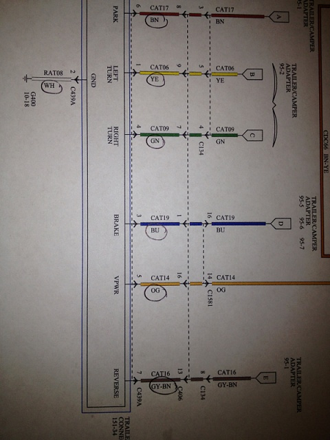 Trailer Tail Light Wiring Diagram Further Ford F 250 Trailer Wiring