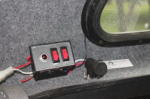Wiring a truck cap 3rd brake light and dome light  Ford