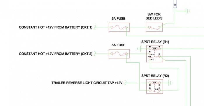 led strip light wiring diagram for kenwood radio reverse bar today page 2 ford f150 forum community of harness