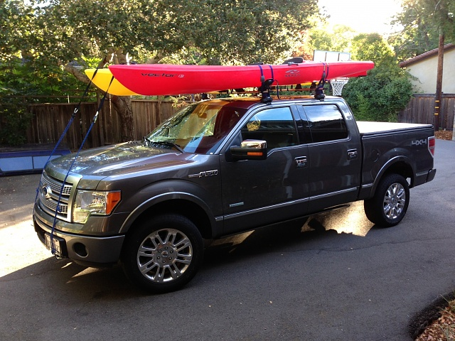 Looking for a Kayak rack for the truck