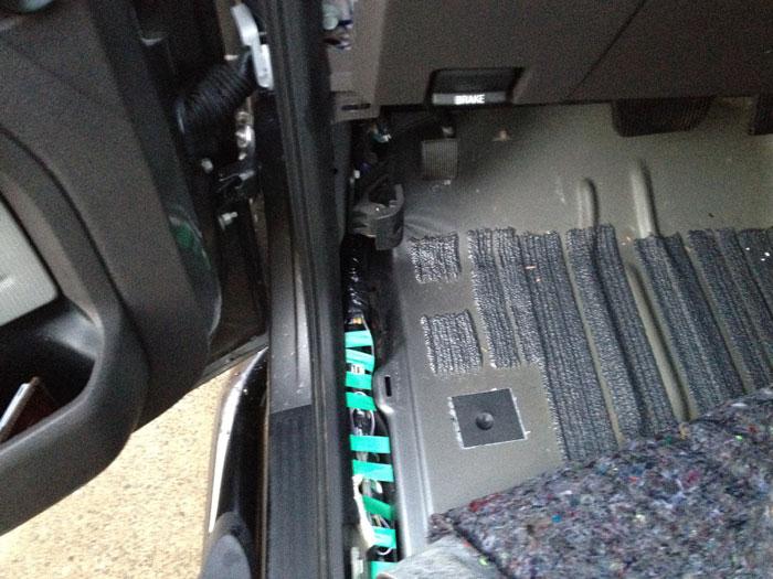 1993 Ford Ranger Wiring Harness Cab Leak Driver Side Found Ford F150 Forum Community