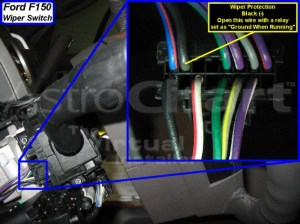 2010 remote starter wiring info and pics to match  Ford