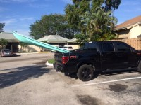 Paddle Board Hauling Tip For 5.5 Bed - Page 2 - Ford F150 ...