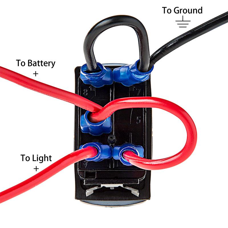 dorman 4 pin relay wiring diagram 2003 ford taurus exhaust install rocker switch www toyskids co 5 f150 forum community 8 illuminated