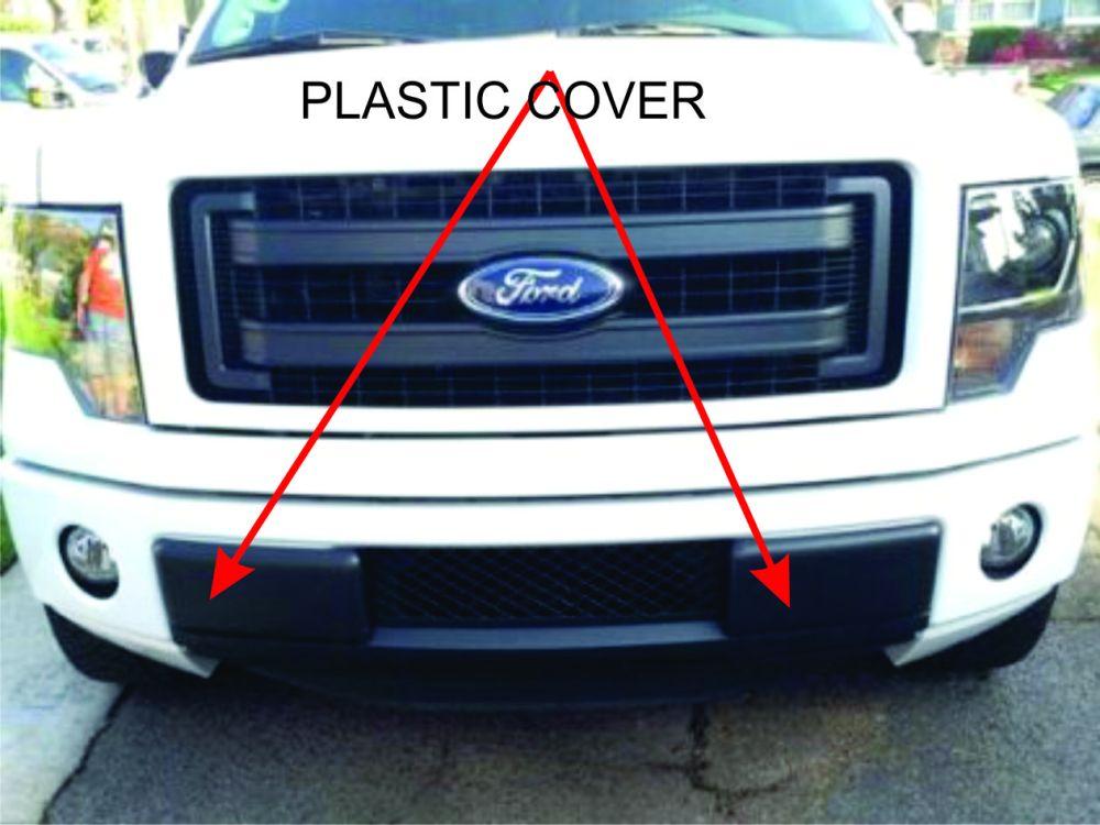 medium resolution of front bumper insert cap f150 plastic caps jpg