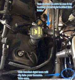intermittent oil pressure on 2012 platinum ecoboost engine top jpg  [ 2448 x 3264 Pixel ]