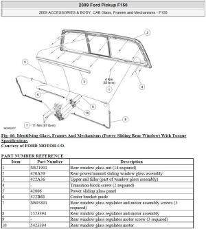 Power sliding rear window cable snapped and is binding in motor  Page 2  Ford F150 Forum