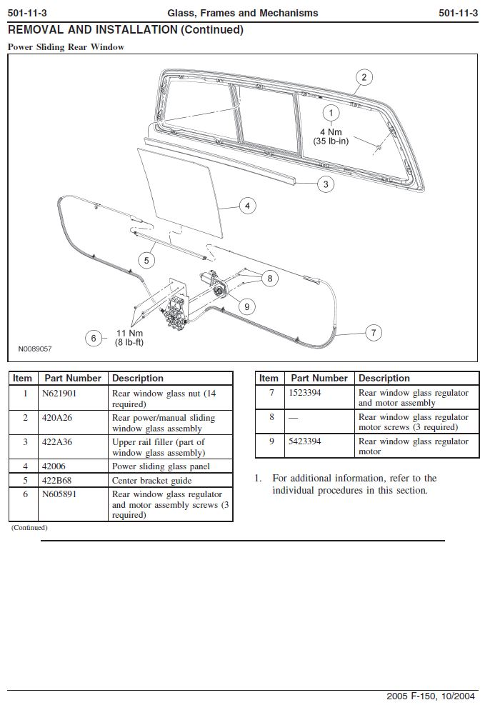 2005 ford f150 power window wiring diagram horsetail plant sliding rear cable snapped and is binding in motor - page 2 forum ...