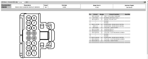 small resolution of 2010 f150 video cap mirror 16 pin plug 2010 rear view 1 jpg