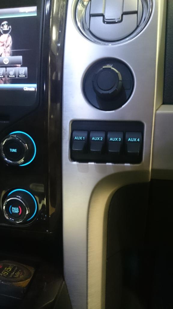 2015 F250 Super Duty Upfitter Wiring Diagram Complete Upfitter Switch Install Into 2013 F150 Platinum