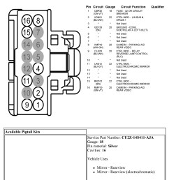 ford power mirror wiring diagram wiring diagram centre 04 f250 mirror wiring diagram [ 2192 x 2912 Pixel ]