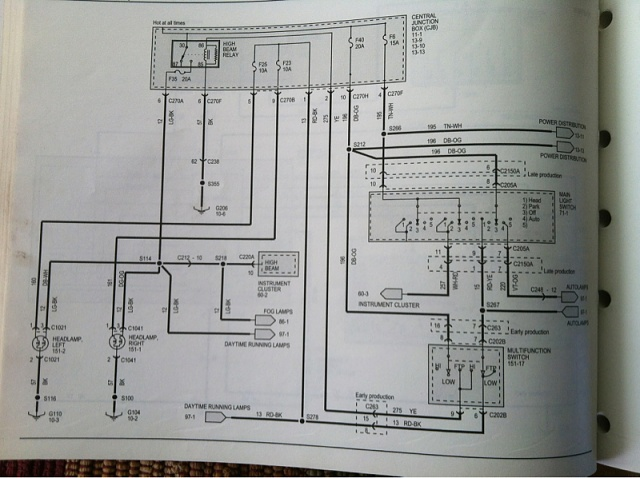 04 ford f150 wiring diagram sony harness headlights won't work - page 2 forum community of truck fans