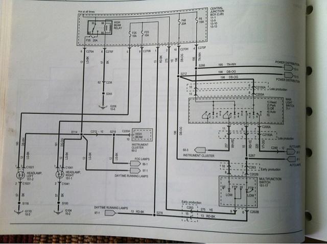 ford fuel pump relay wiring diagram club car gas engine headlights won't work - page 2 f150 forum community of truck fans
