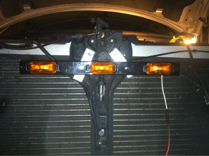 F150 Led Light Bar Behind Grille