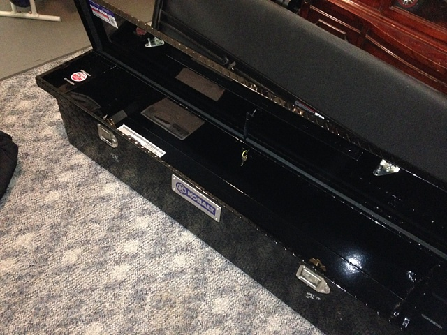 Cut My Tonneau Cover To Fit My Bed With A Toolbox Ford